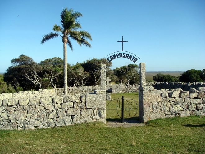 Погост в крепости святой Терезы