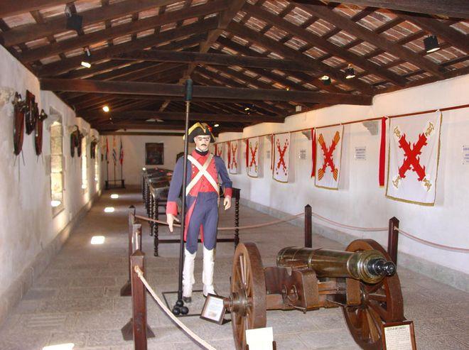 Музей в крепости святой Терезы