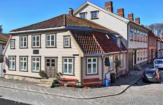 Отель Gamlebyen Hotell Fredrikstad