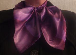 Француски шал - како шивати
