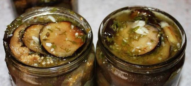Przepis na bakłażany smażone z czosnkiem na zimę