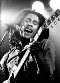 Боб Марли на сцене