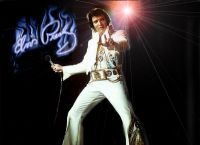 Элвис Пресли на концерте 1