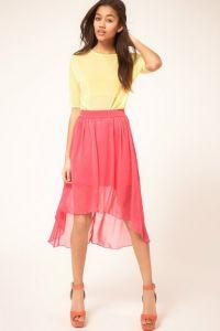 Prednji suknja kratki i dugi leđa 1