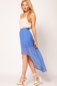 Prednji suknja kratki i dugi leđa 2