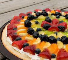 jak zrobić pizzę owocową