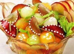 kako napuniti voćnu salatu