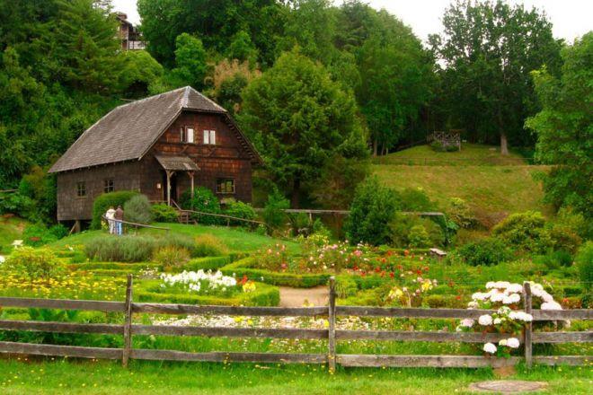 Немецкие дома в Фрутильяр