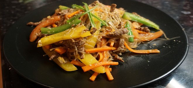 Рецепт фунцхози са говедином и поврћем
