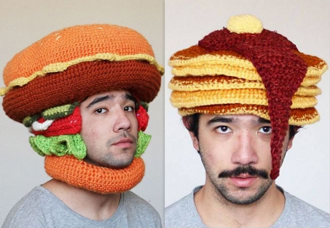 zabawne czapki z dzianiny 13