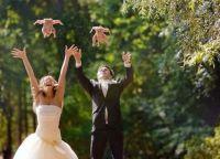 Цоол свадбена фотографија пуца 2