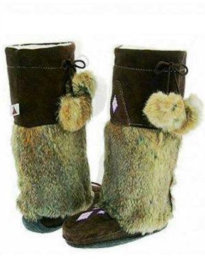 Futrzane buty 1