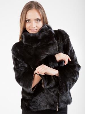 Кожено палто avtoledi от норка 1