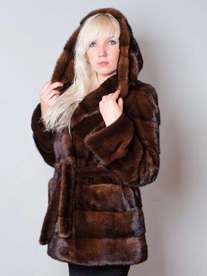 Мънко кожено палто 4