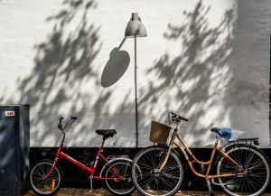 Самый популярный вид транспорта на острове - велосипед