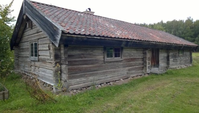 Самый древний дом в музее