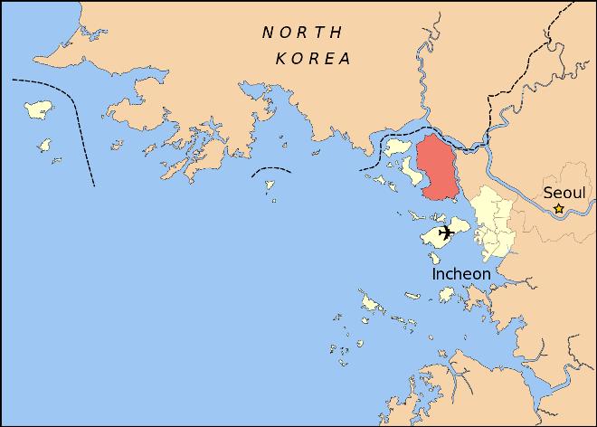 Канхвадо на карте