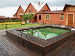 modrzewiowe podłogi ogrodowe