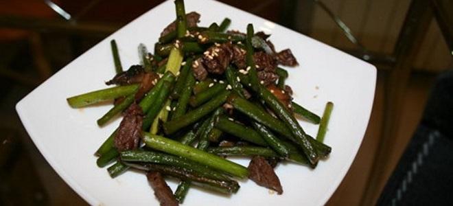 Корејски луткарски стрелци - рецепт са месом