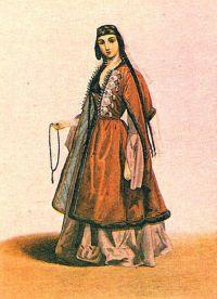 Gruzínské národní oblečení 2