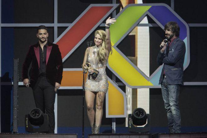 Выступление Шакиры на церемонии Los40 Music Awards