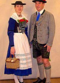Německé národní oblečení 5
