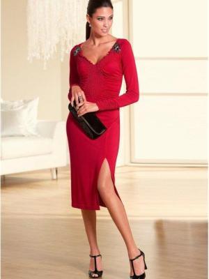 dziewczyna w czerwonej sukience 5