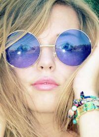 kształt okularów na okrągłą twarz 1