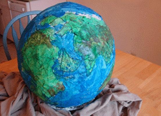 Globe s vlastními rukama