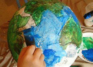 DIY Globe11