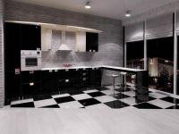 kuhinja crno-bijelog sjaja1