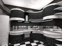 kuhinja crno i bijelo sjajno3