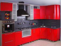 crvena sjajna kuhinja1