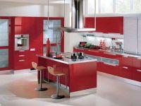 crvena sjajna kuhinja2