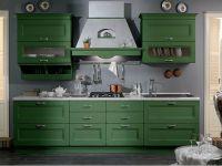 zelena sjajna kuhinja3