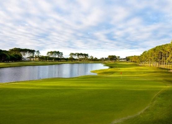 Поле для гольфа Sanctuary Cove