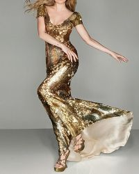 Złota sukienka 3