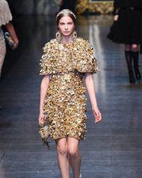 Złota sukienka 7