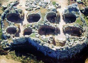 Храмы Джгантия - вид сверху