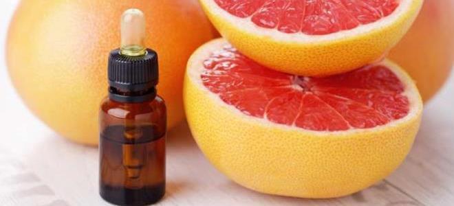 грейпфрутовое масло