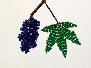 winogrona z koralików22