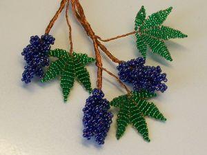 winogrona z koralików23