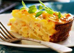 klasična gratinirana krumpira