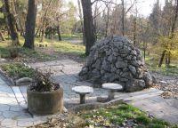 Места для отдыха в парке