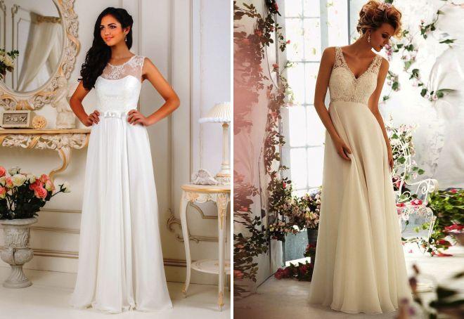 suknie ślubne grecja z koronką