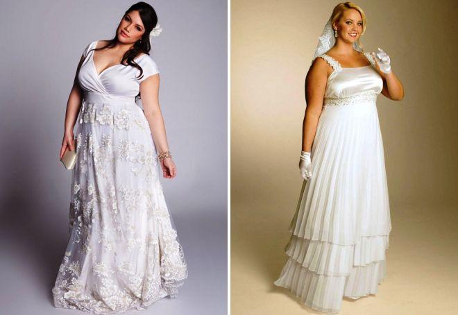 białe suknie ślubne w greckim stylu