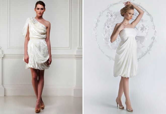 piękne greckie suknie ślubne