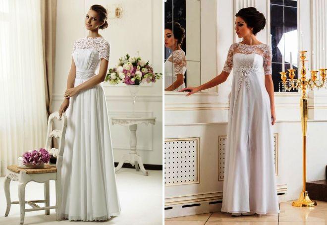 Grecka suknia ślubna
