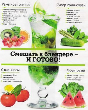 zdrowe zielone koktajle