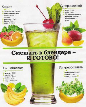 korzyści płynące z zielonych koktajli